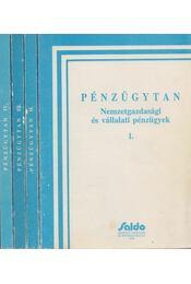 Pénzügytan I-IV - Baka Istvánné, Bánfi Tamás, Sulyok-Pap Márta - Régikönyvek