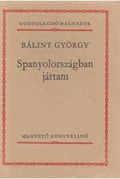Spanyolországban jártam - Bálint György - Régikönyvek