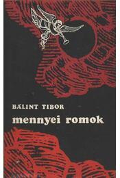 Mennyei romok - Bálint Tibor - Régikönyvek
