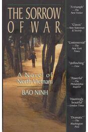 The Sorrow of War - Bao Ninh - Régikönyvek