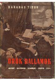 Örök dallamok - Barabás Tibor - Régikönyvek