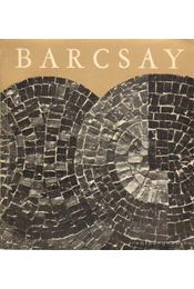 Barcsay - Barcsay Jenő - Régikönyvek
