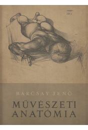 Művészeti anatómia - Barcsay Jenő - Régikönyvek