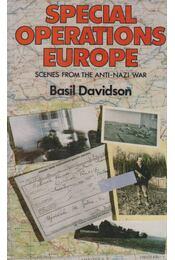 Special Operations Europe - Basil Davidson - Régikönyvek