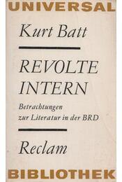 Revolte Intern - BATT, KURT - Régikönyvek