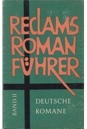 Reclams Romanführer II. - Beer, Johannes - Régikönyvek
