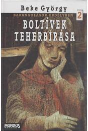 Boltívek teherbírása 2. (dedikált) - Beke György - Régikönyvek