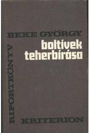 Boltívek teherbírása - Beke György - Régikönyvek
