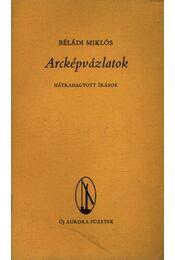 Arcképvázlatok - Béládi Miklós - Régikönyvek