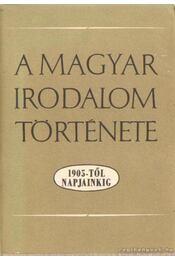 A magyar irodalom története 1905-től napjainkig - Béládi Miklós, Bodnár György - Régikönyvek
