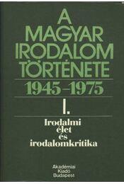 Irodalmi élet és irodalomkritika - Béládi Miklós - Régikönyvek