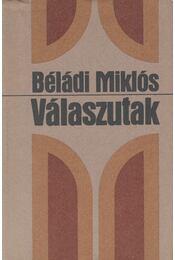 Válaszutak - Béládi Miklós - Régikönyvek