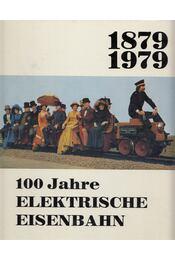 100 Jahre Elektrische Eisenbahn - Benzenberg, Manfred, Goetzeler, Herbert, JOACHIMSTHALER, ANTON, Troche, Horst, Sigfrid von Weiher, Tietze, Christian, Voß, Uwe, Scholtis, Gerhard, Dieter Schmitt-Manderbach, Badstieber, Josef - Régikönyvek