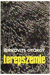 Terepszemle - Berkovits György - Régikönyvek