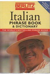 Berlitz Italian Phase Book and Dictionary - Régikönyvek
