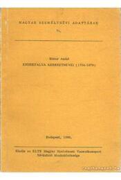 Endrefalva keresztnevei (1734-1979) - Bitter Anikó - Régikönyvek