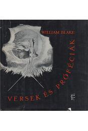 Versek és próféciák - Blake, William - Régikönyvek