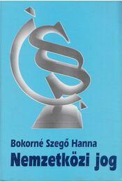 Nemzetközi jog - Bokorné Szegő Hanna - Régikönyvek