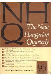 The New Hungarian Quarterly 95 - Autumn 1984 - Boldizsár Iván - Régikönyvek