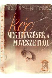 Kép - Szőnyi István - Régikönyvek