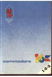Commodore 16 1.2.3 - Pál Zsuzsanna-Révbíró Tamás - Régikönyvek