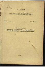 A dömörkapui mészsziklák (Mecsek hegység) Molluscafaunájának cönológiai vizsgálata (Téli aszpektus) - Gebhardt Antal - Régikönyvek