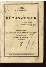 Búzaszemek - Novák Olga - Régikönyvek