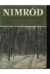 Nimród 1972. évfolyam (teljes) - Karczag Iván(főszerk.) - Régikönyvek