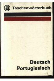Taschenwörterbuch Deutsch- Portugiesisch - Werner Meister, Esaú Pereira Laus - Régikönyvek