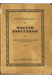 Magyar zsoltárok - Gyurói Nagy Lajos - Régikönyvek