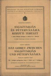Salgótarján és Pétervására közötti terület - Szentes Ferenc - Régikönyvek