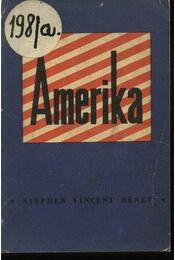 Amerika - Benét Vince István - Régikönyvek