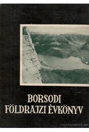 Borsodi földrajzi évkönyv - Régikönyvek