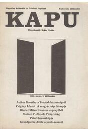 Kapu 1989. május 2. különszám - Brády Zoltán - Régikönyvek