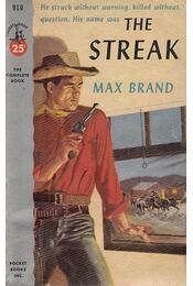 The Streak - Brand, Max - Régikönyvek