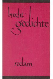 Gedichte - Brecht, Bertolt - Régikönyvek