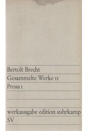 Gesammelte Werke 11. - Brecht, Bertolt - Régikönyvek