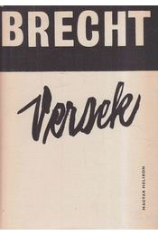 Versek - Brecht, Bertolt - Régikönyvek