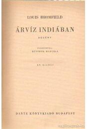 Árvíz Indiában - Bromfield, Louis - Régikönyvek