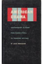 American Drama - Broussard, Louis - Régikönyvek