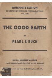 The Good Earth - Buck, Pearl - Régikönyvek