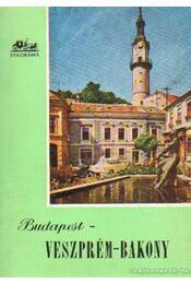 Budapest - Veszprém - Bakony - Régikönyvek