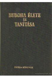 Buddha élete és tanítása - Régikönyvek