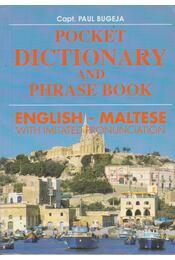 Pocket Dictionary and Phrase Book - English-Maltese - Bugeja, Paul - Régikönyvek