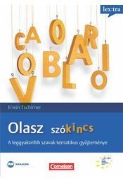 Olasz szókincs - Bulinszky Marianna,  Erwin Tschirner - Régikönyvek