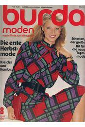 Burda Moden 1980/8 August (német nyelvű) - Régikönyvek