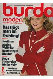 Burda Moden 1980/2 Februar (német nyelvű) - Régikönyvek