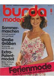 Burda Moden 1981/6 Juni (német nyelvű) - Régikönyvek