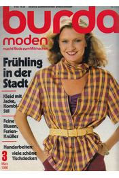 Burda Moden 1980/3 März (német nyelvű) - Régikönyvek