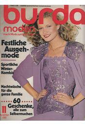 Burda Moden 1980/11 November (német nyelvű) - Régikönyvek